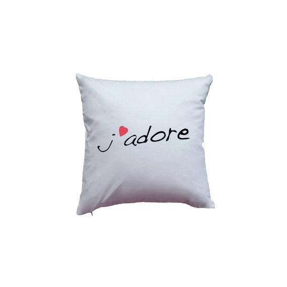 Cute J Adore I Adore You In French Etsy