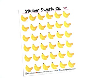 Banana Planner Stickers