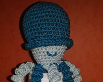 squid Octopus crochet Octopus toy octopus boy version