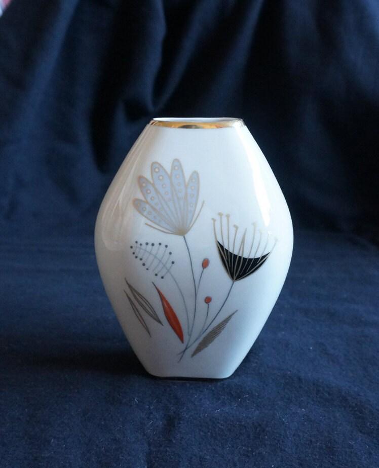 vase en porcelaine posey winterling marktleuthen bavaria 161 etsy. Black Bedroom Furniture Sets. Home Design Ideas