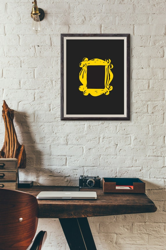FRIENDS TV Yellow Door Frame : Wall Decor Art Fan Poster
