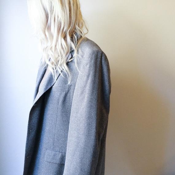 Gray Oversized Blazer