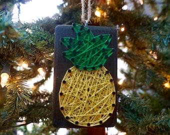 Pineapple String Art Ornament