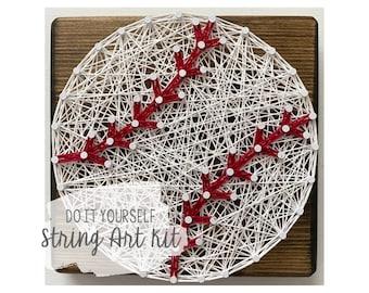 DIY Baseball String Art Kit