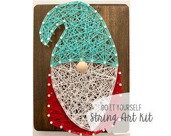 DIY Gnome String Art Kit