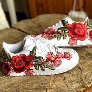 nike air force 1 floral rose