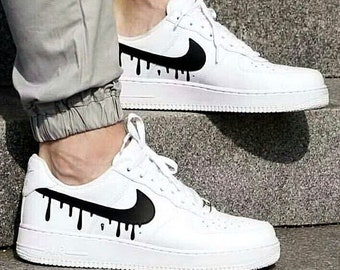 Nike Air Force 1 Low with Candy Drip Design 35b7d8cc2