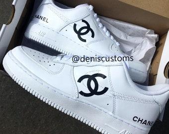 06382e96441 Nike Air Force 1 Chanel Custom Design