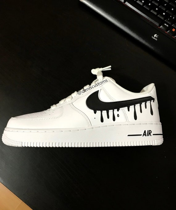 Nike Air Force 1 Low with Candy Drip Design