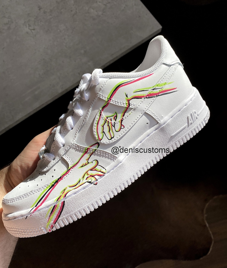 Nike Air Force 1 Low with Neon Creation