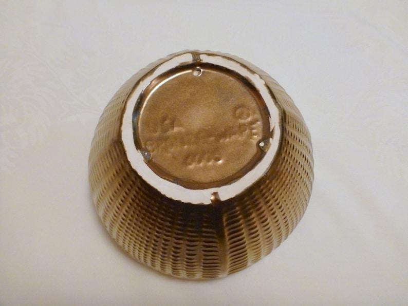Stangl Bronze-Ware Round Planter  Bowl #5329-6005