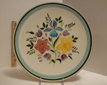 Stangl Country Garden 14'' Chop Plate #3943