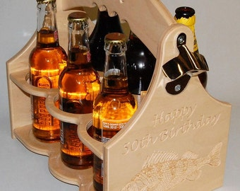 Beer Caddy With Bottle Opener