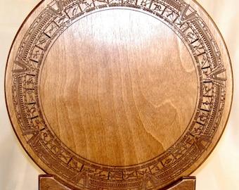 Stargate Plaque