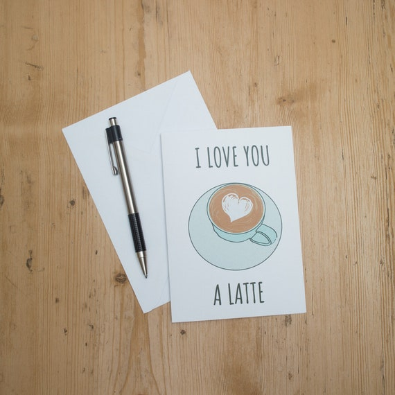 Cards For Couples Coffee Lover Card Birthday