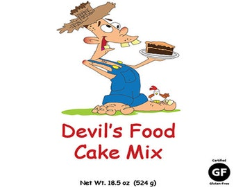 Gluten-Free Devil's Food Cake Mix
