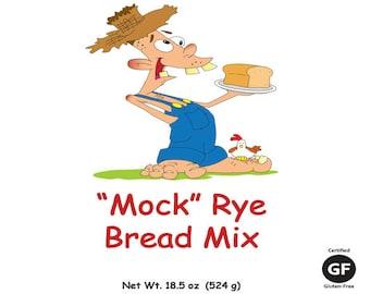 """Gluten-Free """"Mock"""" Rye Bread Mix"""