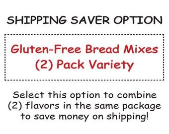 Variety 2-Pack: Gluten-Free Bread Mixes