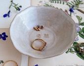 Personalised ceramic wedding engagement  ring dish, monogram ceramic ring dish, mr & mrs ring dish, personalised ceramic wedding ring holder
