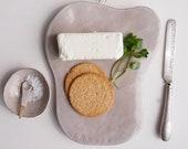 Handmade personalised ceramic glazed cheese board platter, Handmade custom pottery  serving platter, personalised ceramic cheese board,