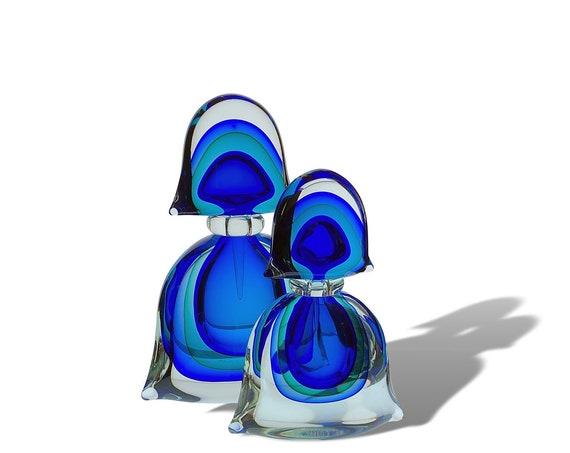 Luigi Onesto OBALL MURANO Sommerso | Submerged Glass Perfume Bottle