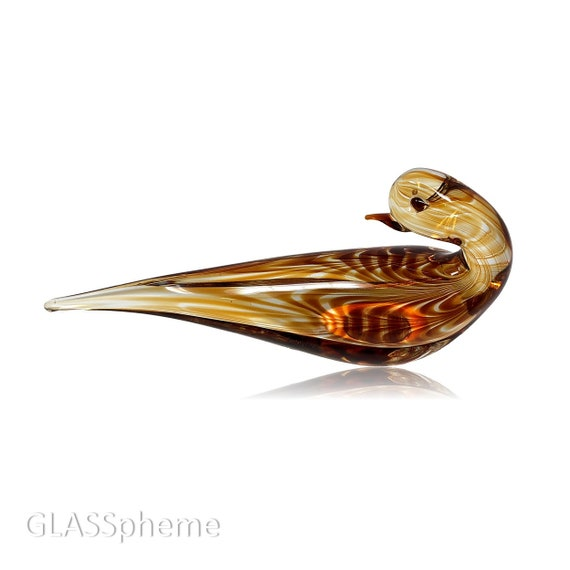 Gino CENEDESE MURANO Glass Dove | Bird Sculpture--Documented & Mint