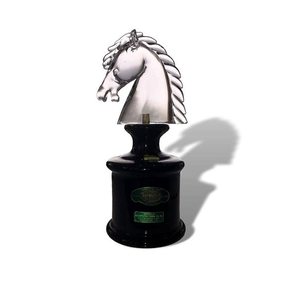 ARCHIMEDE SEGUSO 1969 Crystal Glass Horse Luxardo Decanter | Knight Chess Piece