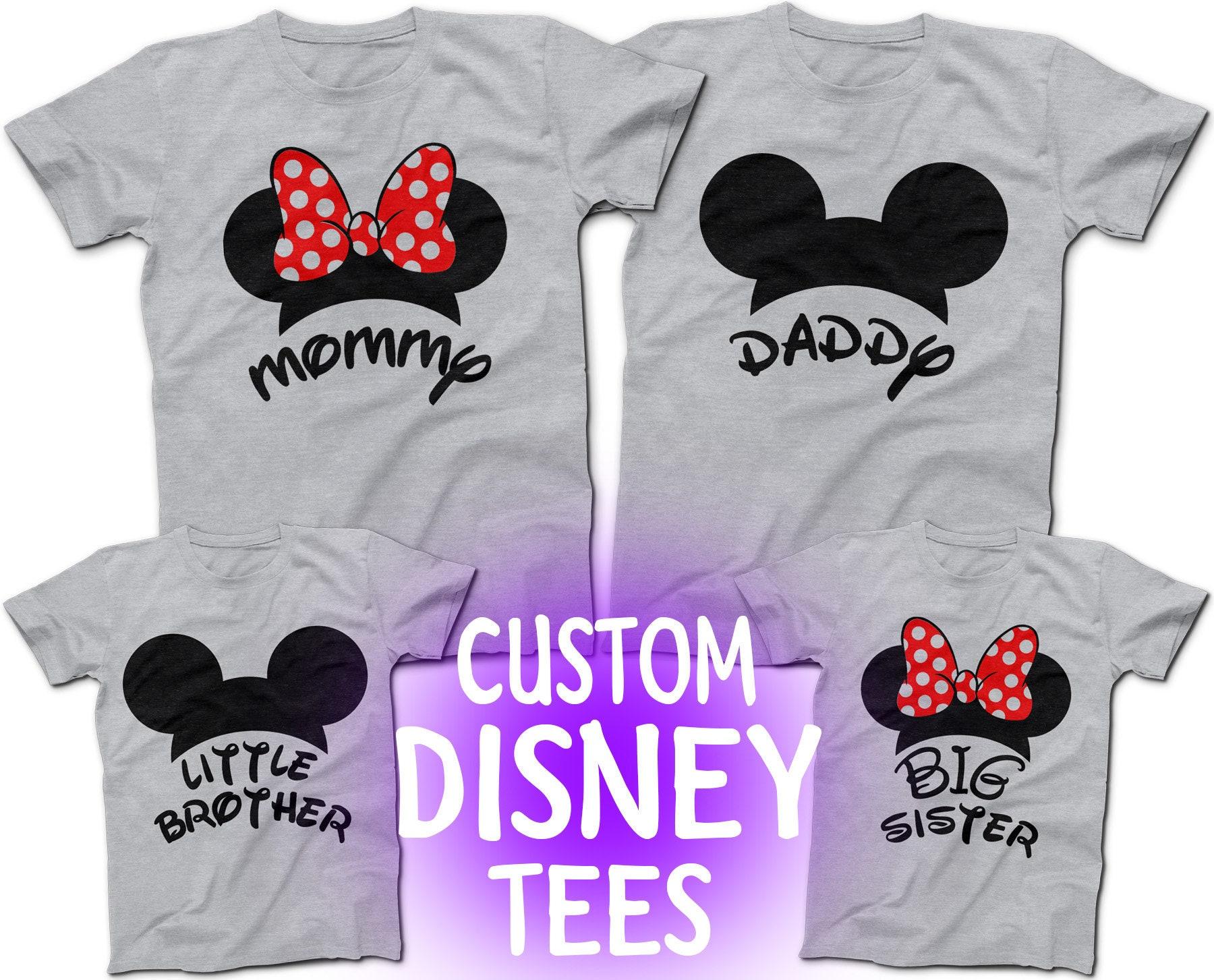 Custom Disney Family Shirts Azərbaycan Dillər Universiteti
