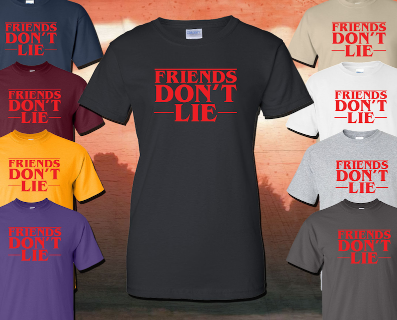 Expression Tees Friends Don/'t Lie Youth-Sized Hoodie