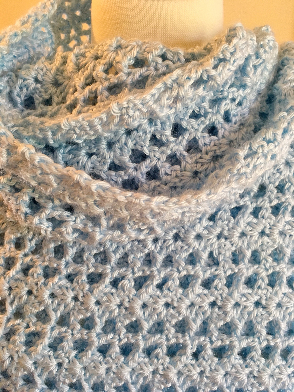 Lacy Lindsey Crochet Shawl Pattern Etsy