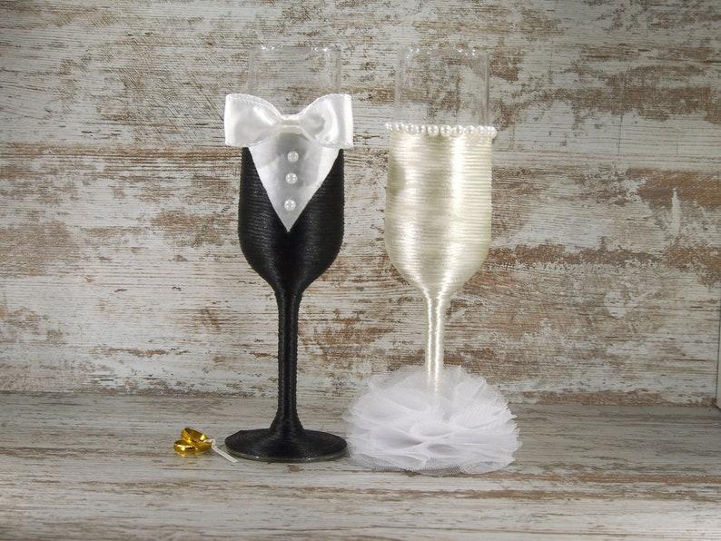 copas de cristal decoradas. copas brindis de boda. regalo para | etsy