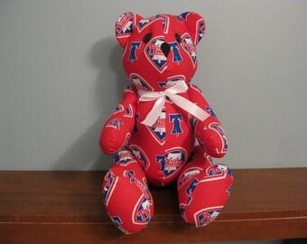 fbbc54a13ba Philadelphia Phillies Bear-mlb bear stuffed bear major league baseball bear  handmade bear custom bear mlb teddy bear