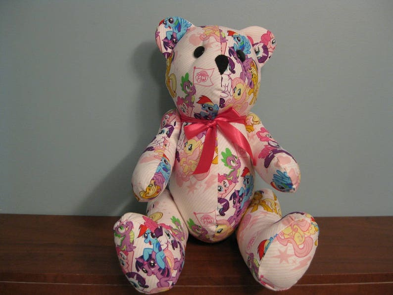 76f24e4971f My Little Pony Bear-pink-stuffed bear novelty bear souvenir