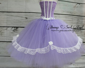 Princess tutu dress. Birthday tutu dress. 2-piece set. Available in many colors!!!