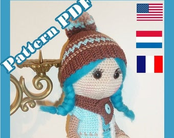 Crochet Pattern, pattern, tutorial, Amigurumi doll, James