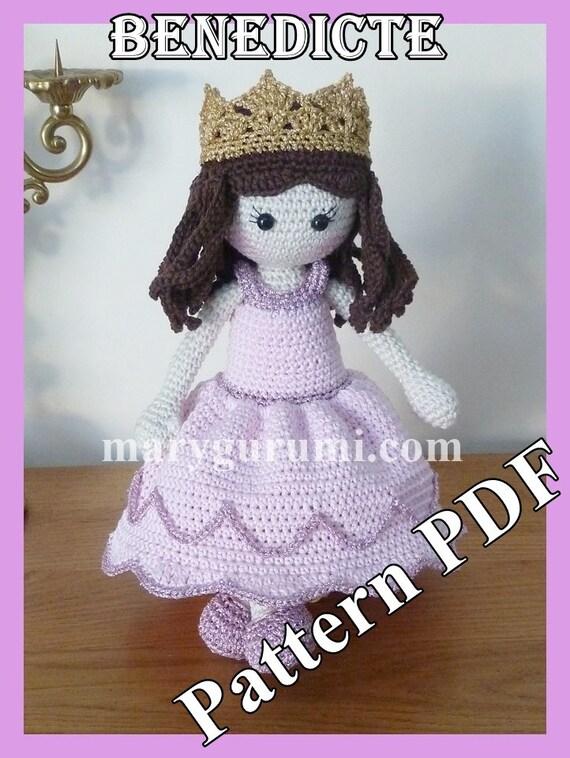Bambola doll porta spilli ago e cotone portalavoro amigurumi ... | 758x570