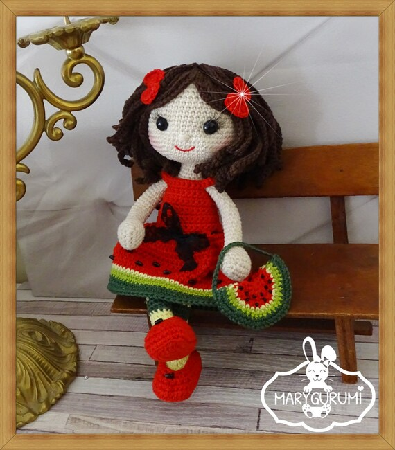 Crochet Pattern Patron Tutoriel Amigurumi Poupée