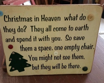 Save them a chair...