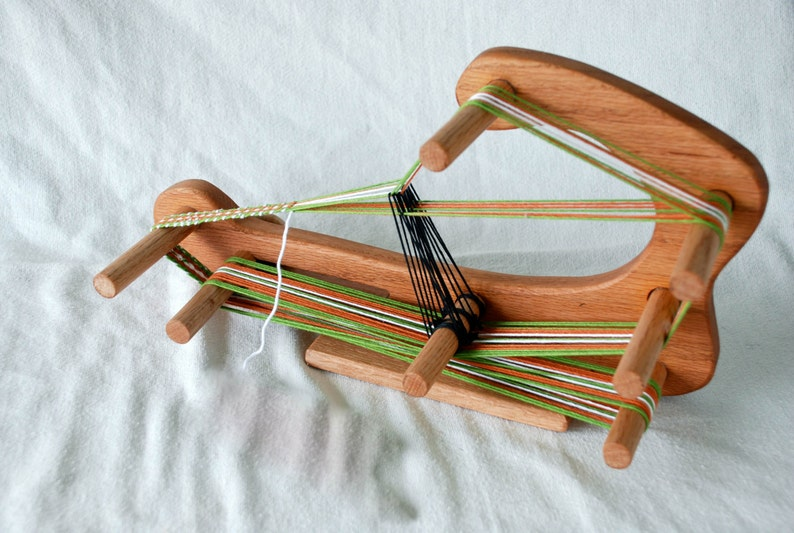 LOOM-The Minstrel  Inkle Small Travel Sized Weaving image 0