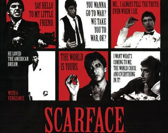 Scarface Quote Etsy