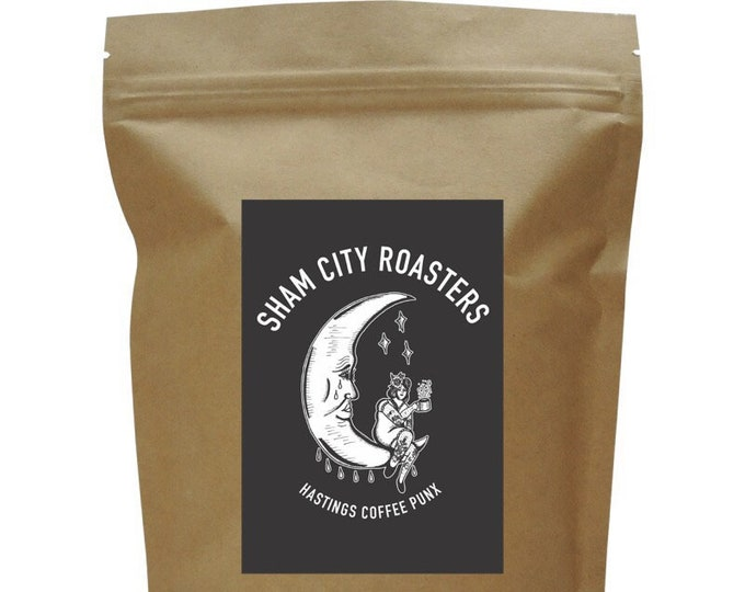 Featured listing image: PRE-ORDER* Coffee Punx Single Origin Java From Sham City Roasters, Craft filter coffee roasted in Hastings, UK