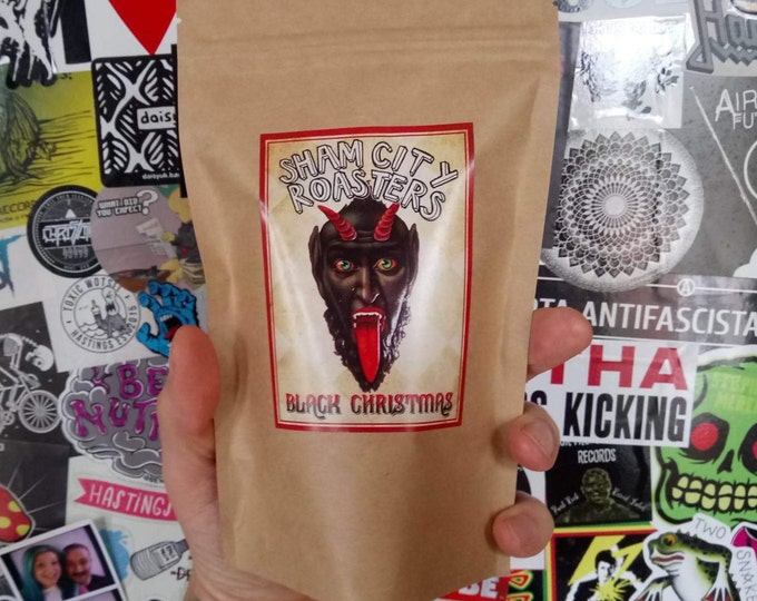 """Coffee, Freshly Roasted - """"Black Christmas"""" Blend From Sham City Roasters, Specialist Craft Coffees Roasted In London"""