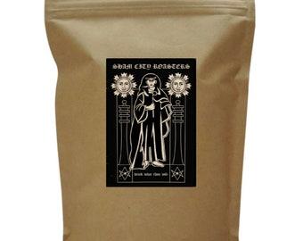 "Filter Coffee, Freshly Roasted - ""Drink What Thou Wilt"" Single Origin From Sham City Roasters, Hastings, Aleister Crowley"