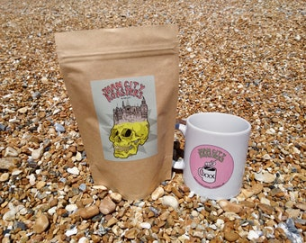 """Freshly Roasted Coffee - """"In The City"""" Blend From Sham City Roasters, Craft filter coffee roasted in Hastings, UK"""