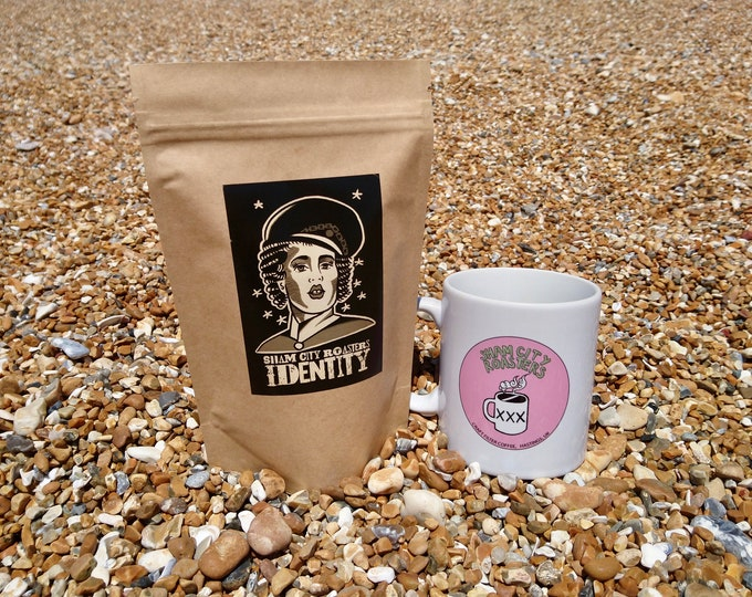 """Featured listing image: Freshly Roasted Coffee - """"Identity"""" Single Origin From Sham City Roasters, Craft filter coffee roasted in Hastings, UK"""