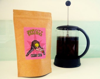 "Filter Coffee, Freshly Roasted - ""White Riot"" Blend From City Roasters, Craft filter coffee roasted in Hastings, UK"