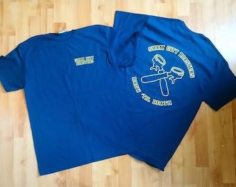 Brew Til Death T-Shirt from Sham City Roasters, coffee, coffee gift, coffee shirt, straight edge, sxe, hardcore punk