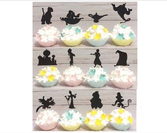 Disney Aladdin Cupcake Toppers