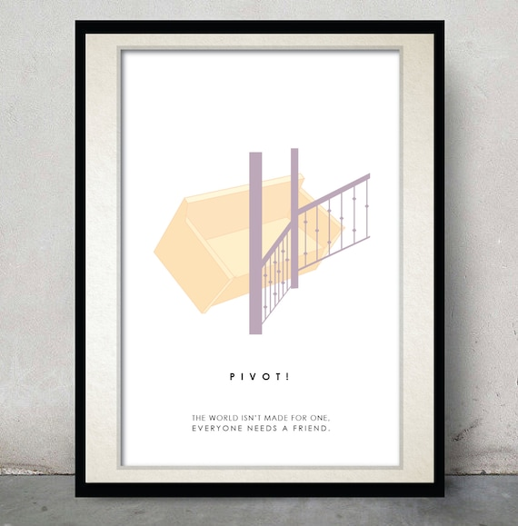 Friends Poster Tv Show Poster Valentine Gift For Friend Etsy