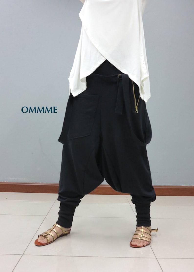 Harem pants 042 Black